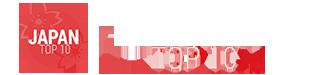 Japan Top 10 Logo